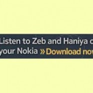 Zeb and Haniya App Launched for Nokia Phones!